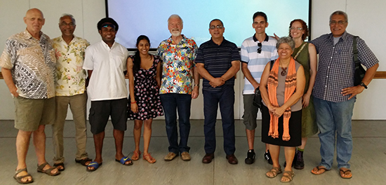 Some of the journalism and academic colleagues at the research seminar at the University of the South Pacific. Image: PMC