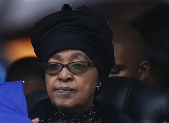 Winnie Mandela ... married to Nelson Mandela for 38 years. Image: Matt Dunham/AP/Al Jazeera