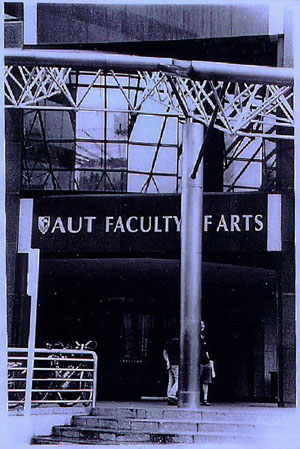 Our old home ... AUT Tower ... Faculty of ...? Image thanks to Scott Creighton.