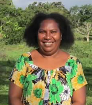 Emily Matasororo of the University of Papua New Guinea.