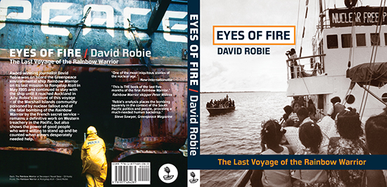 The new 30th anniversary edition of Eyes of Fire (Little Island Press).