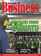 Latest edition of Islands Business.