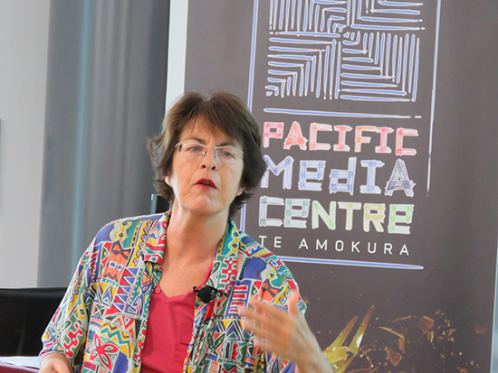Science communication specialist Dr Jan Sinclair. Image: Del Abcede/PMC