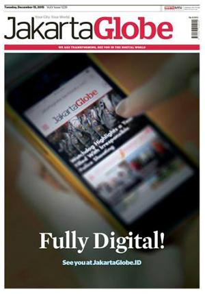 The new mobile Jakarta Globe.