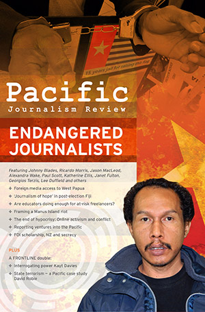Pacific Journalism Review July 2016