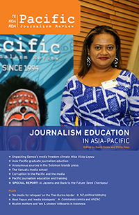 The latest Pacific Journalism Review.