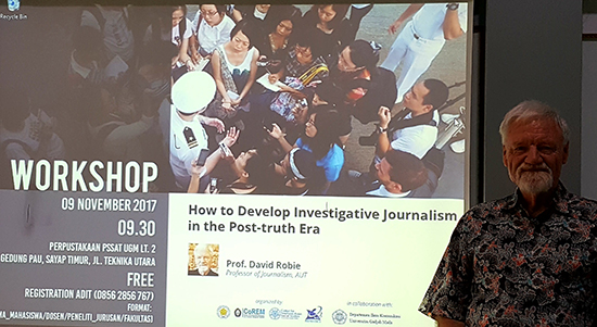 The investigative journalism in a post-truth era seminar. Image: Del Abcede/PMC