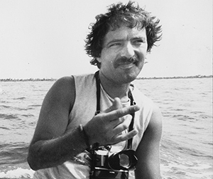 Photographer Fernando Pereira ... killed in the callous French 1985 attack on the Rainbow Warrior. Image: David Robie/Eyes of Fire