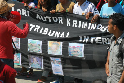 Seeking justice for past atrocities in East Timor. Photo:La'o Hamutuk