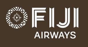 The new Fiji Airways logo … featuring the masi design by Makereta Matemosi.