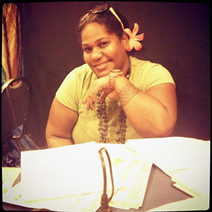 "Losana McGowan ... among a ""vibrant cohorts"" of student journalists, recalls teacher. Image: Fijian Media Association"