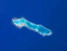 Anaa atoll in the Tuamotus in French Polynesia … where the 2011 film Rebellion was actually shot. Image: NASA