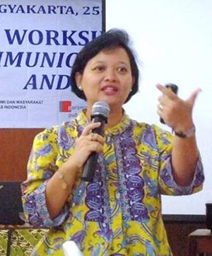 Dr Hermin Indah Wahyuni of Indonesia.