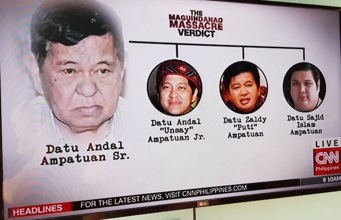 Ampatuan power matrix