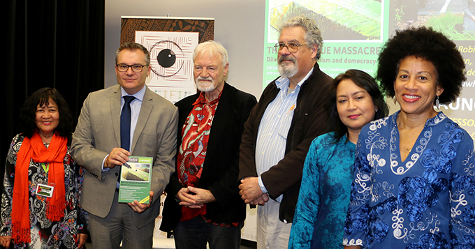 "The launch speech of ""The NZ Mosque Massacre"" double edition of Pacific Journalism Review marking 25 years of publication of the journal delivered by Professor Guy Littlefair, Dean of the Faculty of Design and Creative Industries and Pro Vice Chancellor of Auckland University of Technology, on 25 July 2019."
