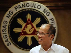 President Benigno Aquino ... due in NZ this week. Image: PDI