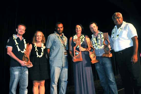 The Grand Prix documentary winners at FIFO 2013.