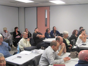 Part of the crowd at Horton's PMC seminar in Auckland. Photo: PMC