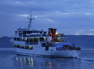 Disaster ferry ... The Rabaul Queen before the sinking. Photo: Post-Courier