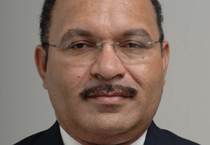 New acting PM Peter O'Neill ... illegal political process? Photo: PNG govt